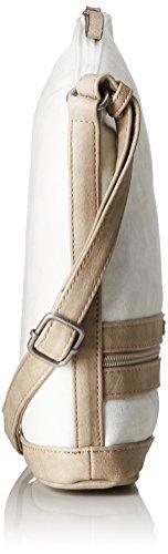 White Smirne Tamaris Off Crossbody Blanc bandoulière Comb Sacs Bag C0xx1wUWdq