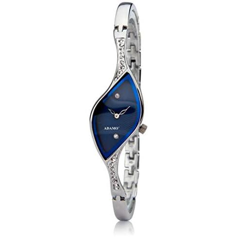 31 aOVBJe5L. SS500  - Adamo Analog Blue Dial Women's Watch-9710SM01