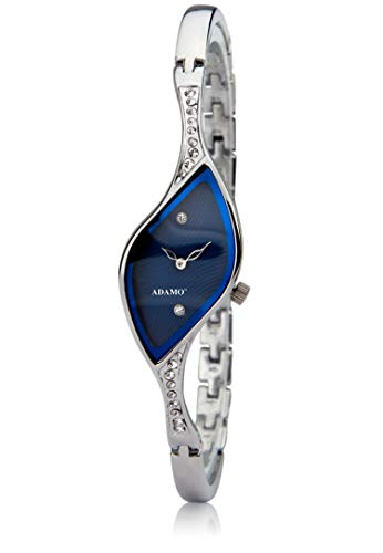 Adamo Analog Blue Dial Women's Watch -9710SM01