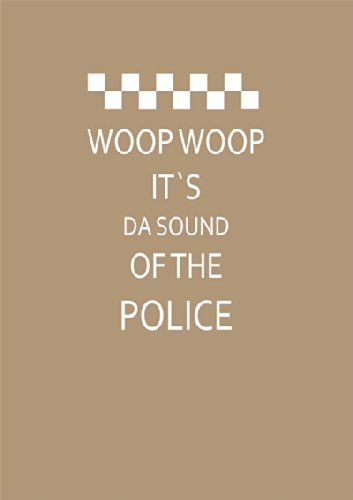 """Disagu Design Case Schutzhülle für Apple iPhone 7 Hülle Cover - Motiv """"WOOP WOOP IT´S DA SOUND OF THE POLICE"""""""