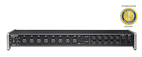 Tascam US-16x08 16-in, 8-out USB 2.0 Audio/MIDI Interface