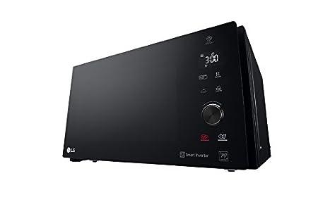 LG MH7265DPS - Microondas Grill Smart Inverter, Microondas 1200 W, Grill 1000 W, Micro+Grill 1500 W, 32 litros de capacidad, Color Negro
