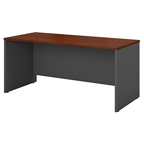 Bush Business Furniture Series C 60W x 24D Credenza Desk in Hansen - Collection Bush Beech
