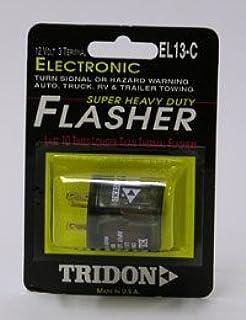 amazon com tridon el13a1 electronic flasher automotive rh amazon com Emergency Flasher Wiring-Diagram 12 Volt Flasher Diagram