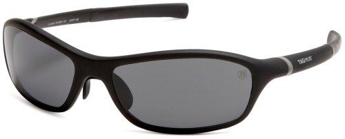 TAG Heuer Men's 27 Degree 6001-101 Sunglasses,Black Frame/Grey Lens,one - Sunglasses 6001