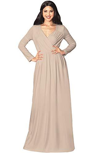 Brown Versatile Empire KOH Sleeve Light Dress Womens KOH Elegant Cocktail Long Evening Maxi Rfxx8w7