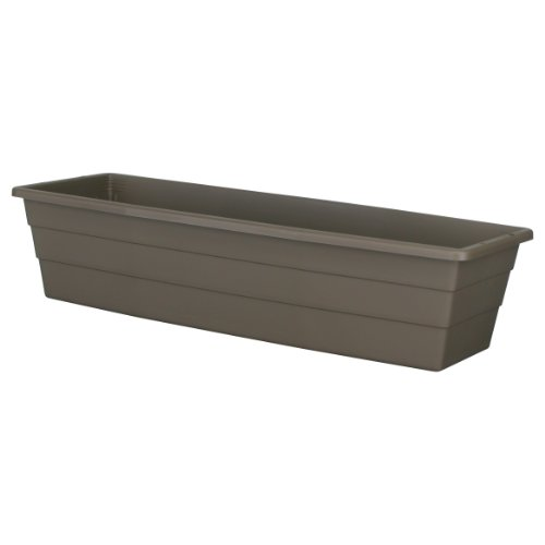 Discount DCN Plastic N2710014 Window Planter, Cappuccino, 27-Inch for sale