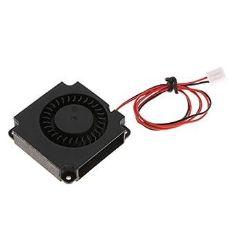 Homyl 3D Printer Turbo Fan Blower Fan 30cm Wiring DC Cooling