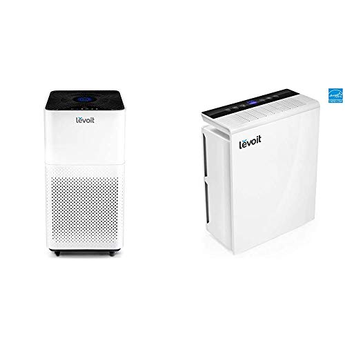 LEVOIT Air Purifier Large Room with H13 True HEPA Filter, 795 Sq. Ft, WHITE & Air Purifier for Home Bedroom, H13 True HEPA Filter for Extra-Large Room, Air Cleaners for Allergies and Pets,Mold,Pollen