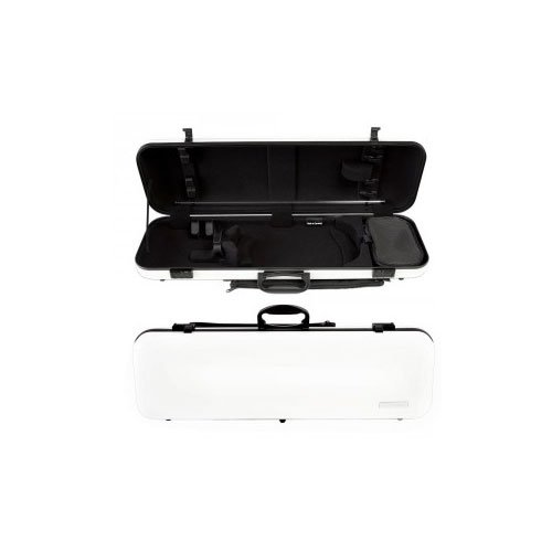 Gewa Air Oblong Violin Case, White/black (Violin Gewa)