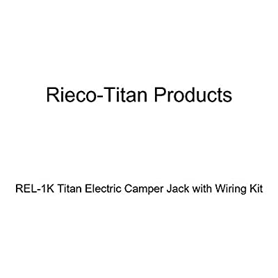 Rieco-Titan Products REL-1K Titan Electric Camper Jack with Wiring Kit