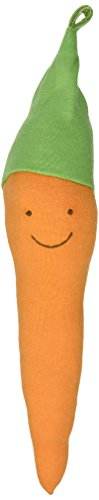 Organic Cotton Veggie Toys - Under The Nile Carrot Toy