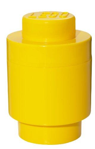 LEGO Round Storage Box Yellow