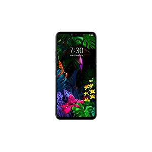 LG G8 ThinQ (128GB, 6GB RAM) 6.1″ QHD+ OLED FullVision Display, Crystal Sound OLED Speaker, Hand ID, Air Motion, 4G LTE (Only for T-Mobile & Its MVNO's) (Renewed) (Aurora Black)