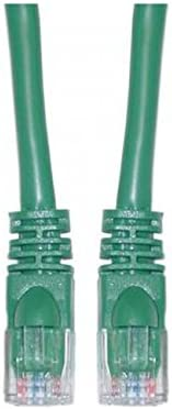 Offex Cat5e Green Ethernet Patch Cable 50 OF-10X6-05150 Snagless//Molded Boot