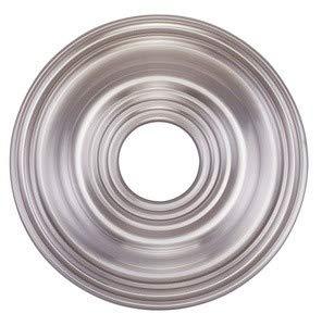Metal Ceiling Medallions - Livex Lighting 8217-91 Ceiling Medallion, Brushed Nickel