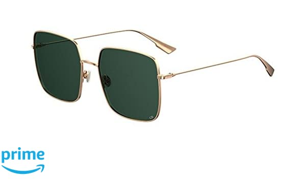 1f8ea7abf839 Amazon.com  New Christian Dior STELLAIRE 1 Rose Gold  Green SUNGLASSES   Clothing