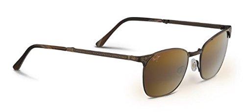 Maui Jim Stillwater Sunglasses Antique Gold/HCL Bronze - Jim Mala Maui Sunglasses