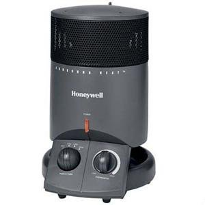 """Honeywell/kaz Home Environme"" HZ-2200 Mini Tower Surround Heater 1500W - Charcoal Gray Ceramic Heaters"
