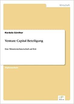 Book Venture Capital Beteiligung: Eine Mitunternehmerschaft auf Zeit