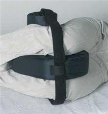 Hip Abductor / Contracture Cushion One Size Fits Most Hook and Loop Strap Closure - 1 Each