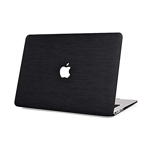 Rymbo Plastic Cover Snap on Leather Protective Case for MacBook Pro 13
