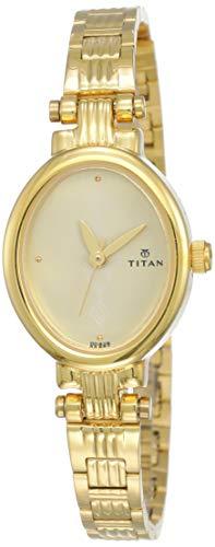 Titan Analog White Dial Women's Watch NM2535YM01/NN2535YM01