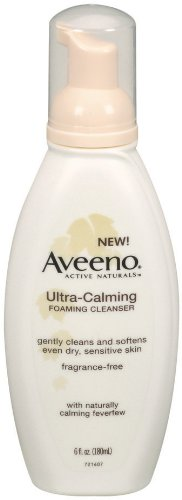 Aveeno Ultra Calming Foaming Cleanser Sensitive product image
