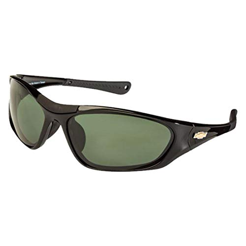 Chevrolet Polarized Sunglasses El Series Sports Style Model CBD1 by Solar Bat ()