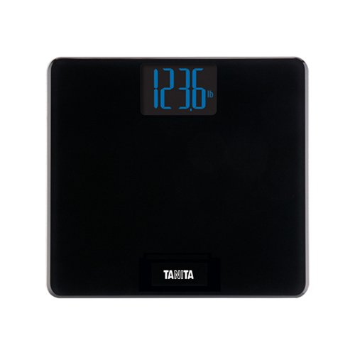 (TANITA HD-366 Digital Weight Scale with Large Blue Backlit LCD, with 440 lb Weight Capacity)