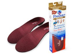 Powerstep Pinnacle Maxx Full Length Orthotic Shoe Insoles , Maroon/Black, Men's 11 - 11.5 / Women's 13 - 13.5 M US (Pinnacle Step Power Insoles)