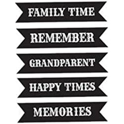 Unity Stamp Itty Bitty Echo Park UnRubber Stamp-echo Park Banners 3Pk