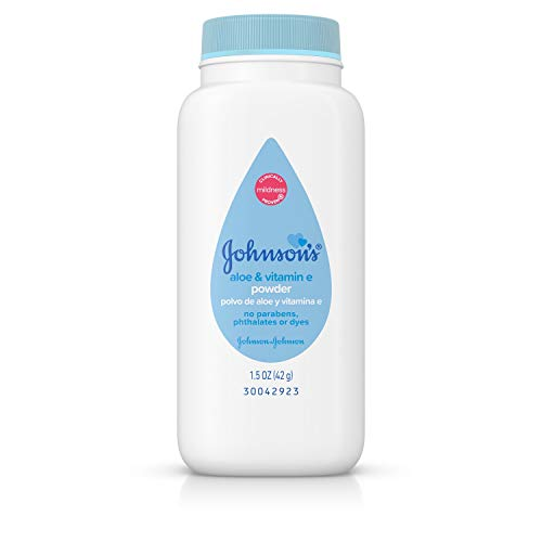 - Johnson's Pure Cornstarch Baby Powder 1.5 Oz Travel Size (Pack of 6) by Johnson's