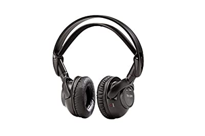TV Ears HD Headphones System - Wireless Voice Clarifying Doctor Recommended Headphones for TV Black (12241)