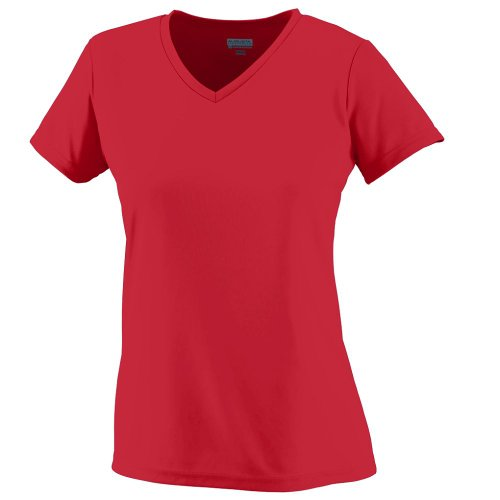 (Augusta Sportswear Wicking T-Shirt, XX-Large, Red)