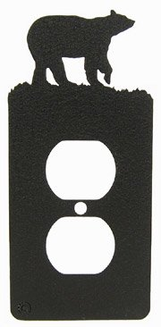 Innovative Fabricators, Inc. Bear Power Outlet Plate Cover