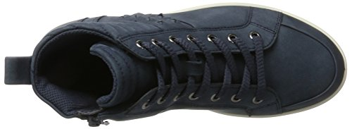 Donne Ecco Aimee Alta Scarpa Da Tennis Blu (navy)