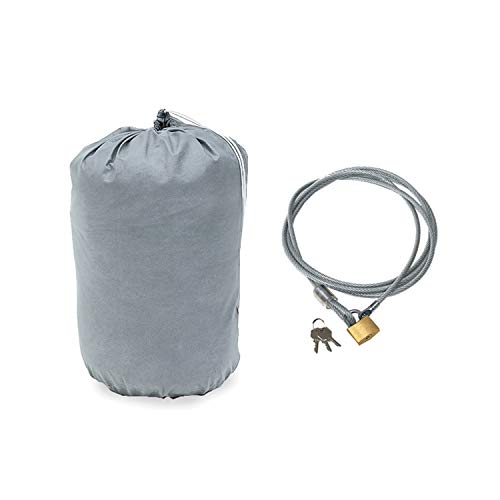 - Rampage Products 1205 4-Layer Breathable Full Car Cover with Lock, Cable & Storage Bag for 1986-1994 Suzuki Samurai, Grey
