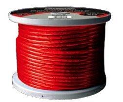 (Tsunami X15PRRD4125, Power Cable - 125ft (37.5m) - 4 Gauge (25mm²) - red)