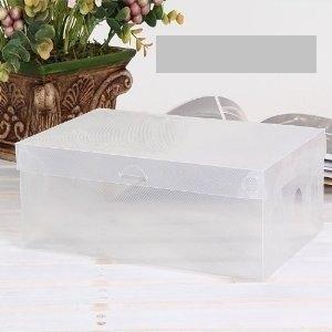 Cajas trasparentes para guardar zapatos en el armario 30x18x9.5cm TRASPARENT BOX - 30 pz
