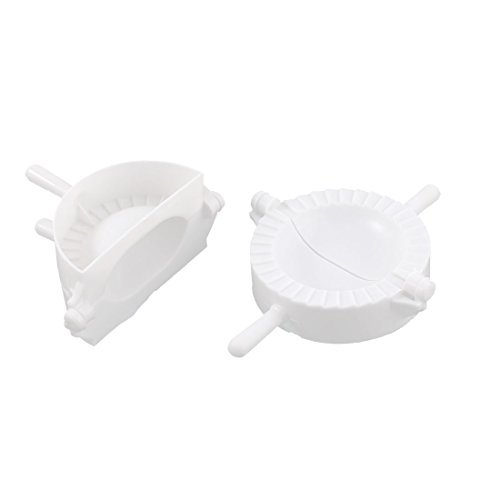 Chinese Kitchen Dough Press Pie Meat Dumpling Mold Mould 2pcs Maker DealMux DLM-B019GUSL3C