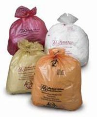 PT# 856 PT# # 856- Bag Biohazard 38x31'' 20-30 Gallons Polypropylene Red 100/Ca by, Medical Action Industries by Medical Action Industries