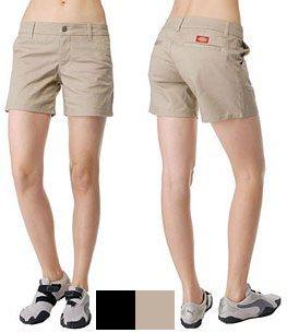 Dickies Girl Women's 4pkt Stretch Twill 5 Short 7 -
