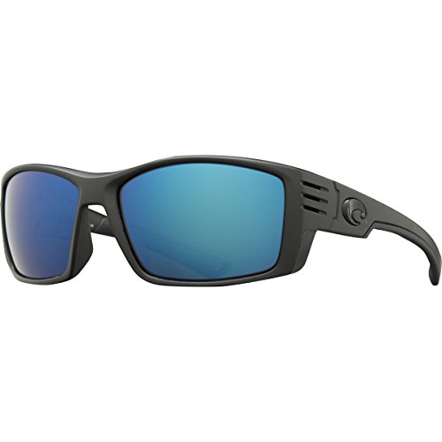 Costa Del Mar Cortez Sunglasses, Blackout, Blue Mirror 580 G