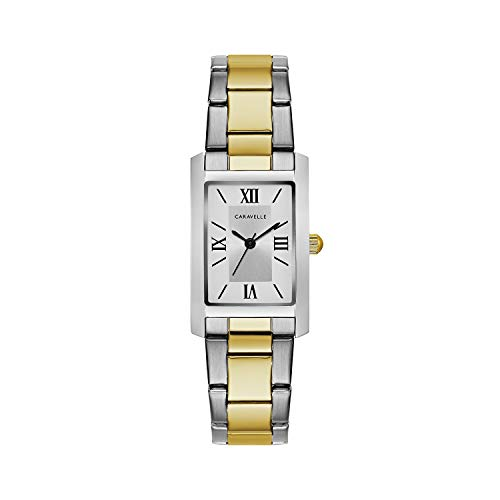 (Caravelle Women's Quartz Watch with Stainless-Steel Strap, Two Tone, 16 (Model: 45L167) )