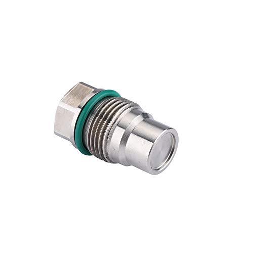 - Diesel Fuel Rail Plug Valve For 07.5-12 Dodge 6.7L Cummins & 04.5-10 GM 6.6L Duramax