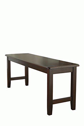 Bankston Dining Bench, Mocha, Espresso, Wood by Better Homes & Gardens (Image #2)
