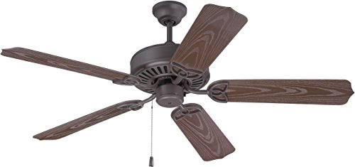 Craftmade Patio 52 Ceiling Fan (Craftmade K10369 Ceiling Fan Motor with Blades Included, 52