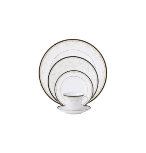 Taupe 5 Piece Place Setting - 2
