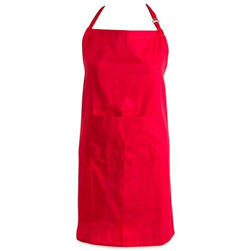 red bbq apron - 2